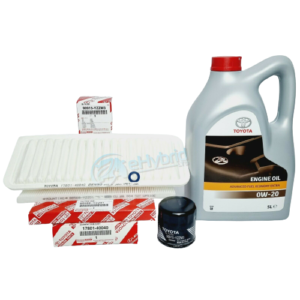 GENUINE TOYOTA IQ SERVICE KIT 2008 TO 2015 FILTERS WITH 0W20 OIL