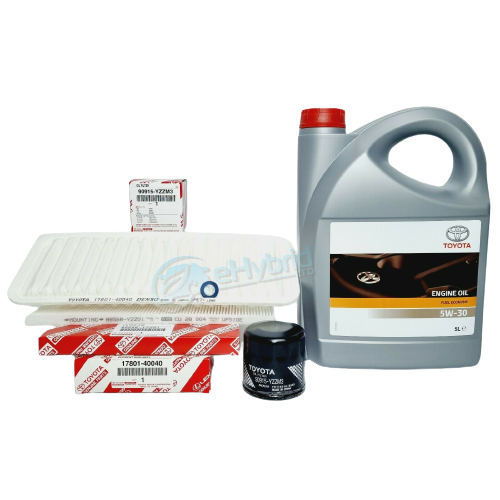 GENUINE TOYOTA IQ SERVICE KIT 1.0L 2008 TO 2015 FILTERS WITH 5W30 OIL