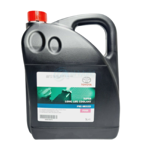 GENUINE TOYOTA  PINK COOLANT SUPER LONG LIFE 5L PRE MIXED READY PINK ANTIFREEZE